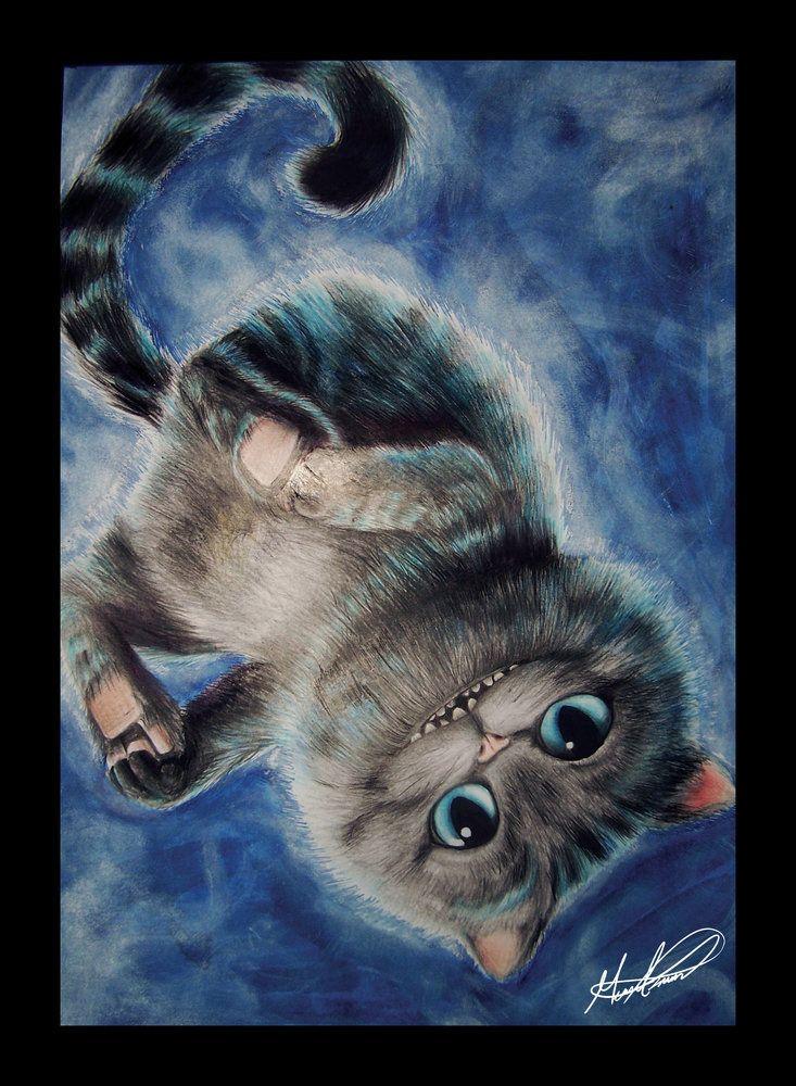 Gato Cheshire - Alice Through The Looking Glass por MarioGagabriel - Cine | Dibujando.net