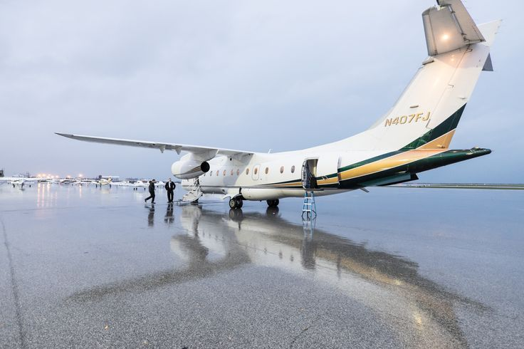 Say hello to the Dornier 328, getting ready to take off out of Burke Lakefront Airport in Cleveland! #ultimateair