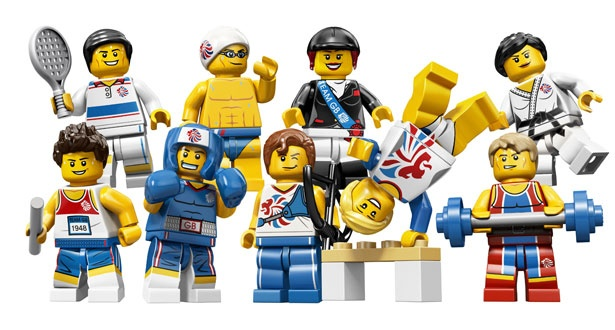 Lego's Team GB