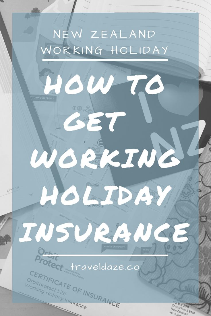 There are so many things you need to do before you start your working holiday; one of those things is getting travel insurance. I'm telling you exactly how to get New Zealand working holiday insurance in this post!