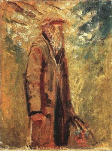 Old Man - Laszlo Mednyanszky