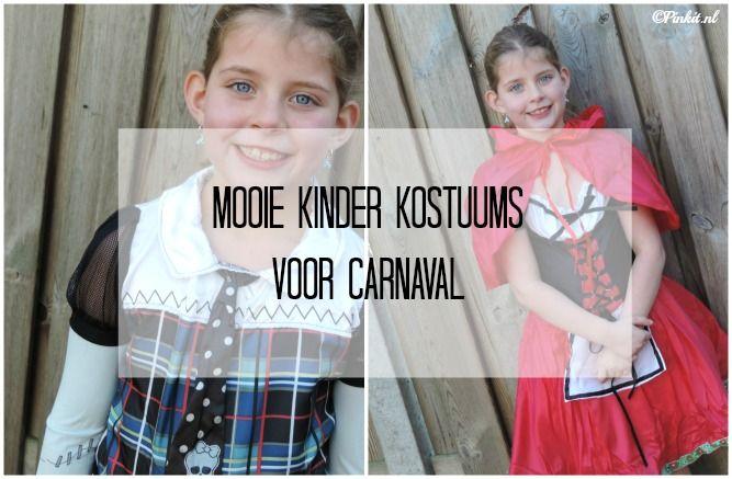 Mooie kinder kostuums voor carnaval