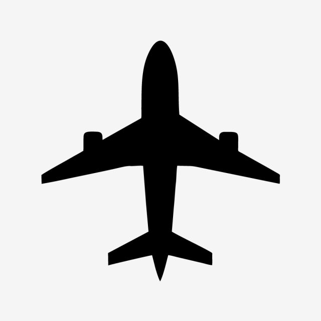 Vector Airplane Icon Vector Clipart Airplane Icons Airplane Png And Vector With Transparent Background For Free Download Ikon Instagram Seni Vektor Ikon Media Sosial