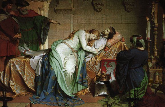 The tragic love story of Tristan and Isolde has been told and retold through various stories and manuscripts. It takes place during medieval times during the reign of King Arthur.