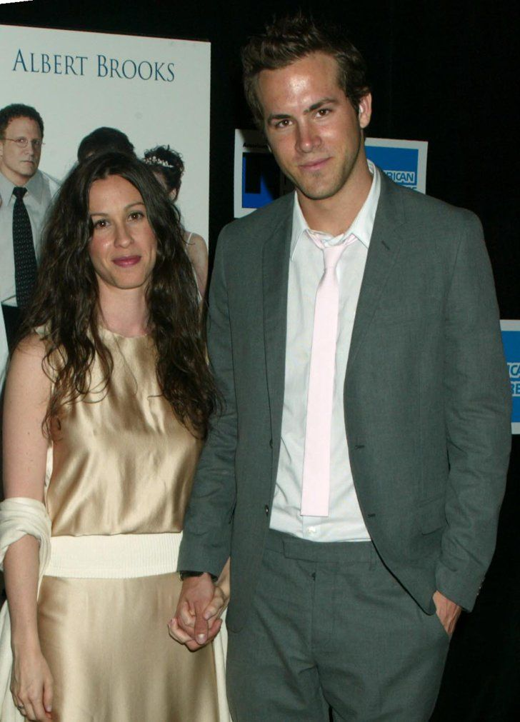 Pin for Later: Flashback to When These Famous Couples Went Public For the First Time Alanis Morissette and Ryan Reynolds in 2003