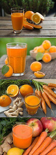 (+1) тема - Детокс: оранжевые смузи для настроения и здоровья | Диеты со всего света Мы продолжаем рассказывать вам о смузи, которые являются отличным детокс-средством. Сегодня поговорим об оранжевых напитках.