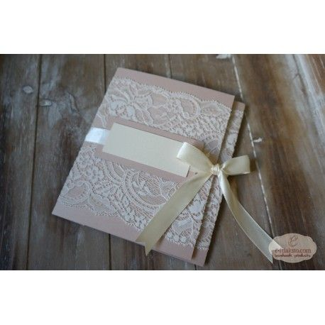 DELUXE LACE PINK (ΠΡΟΣΚΛΗΤΗΡΙΟ)