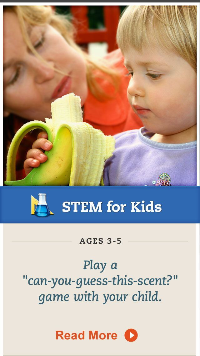 Explore your preschooler's sense of smell with this fun #science activity. Click for more. #STEM