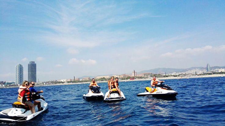 Jet ski diversión en Port Barcelona