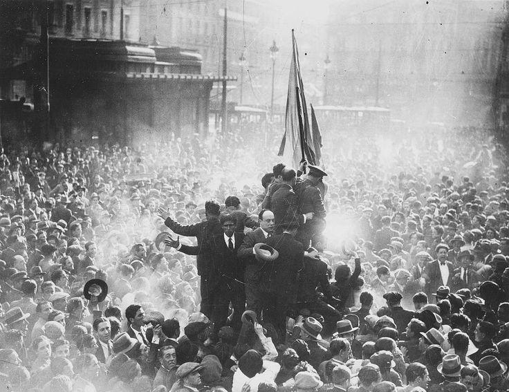 Proclamación de la Segunda República en la Puerta del Sol, el 14 de abril de…