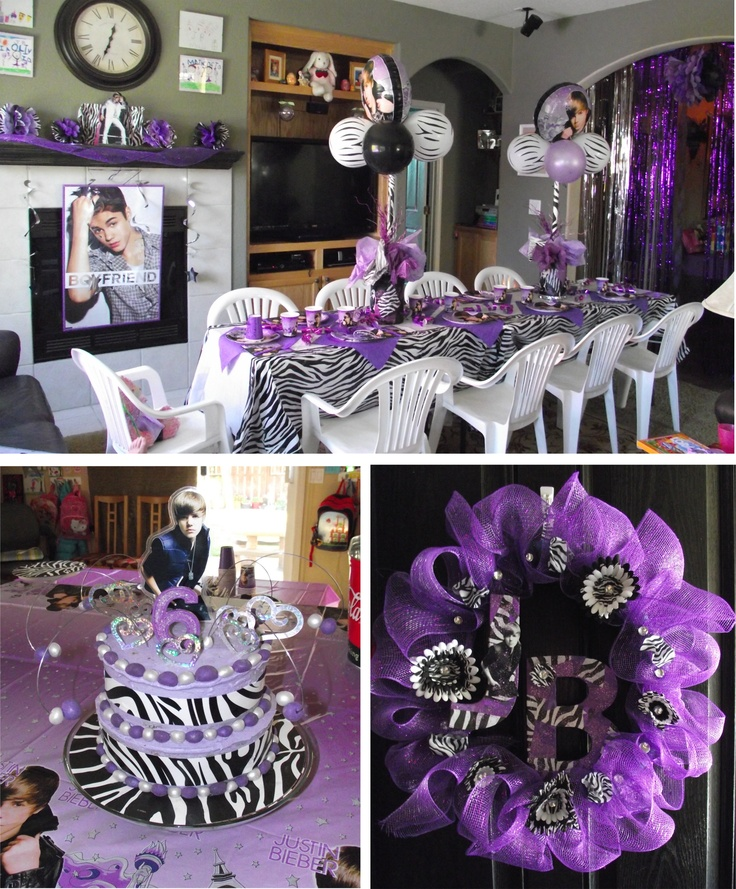 Justin Bieber Birthday Party
