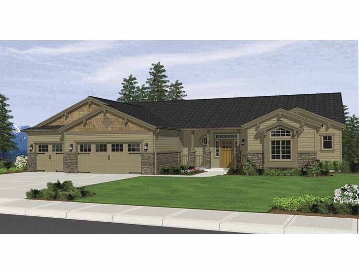 25 best bungalow house plans ideas on pinterest for Eplans craftsman bungalow 11192