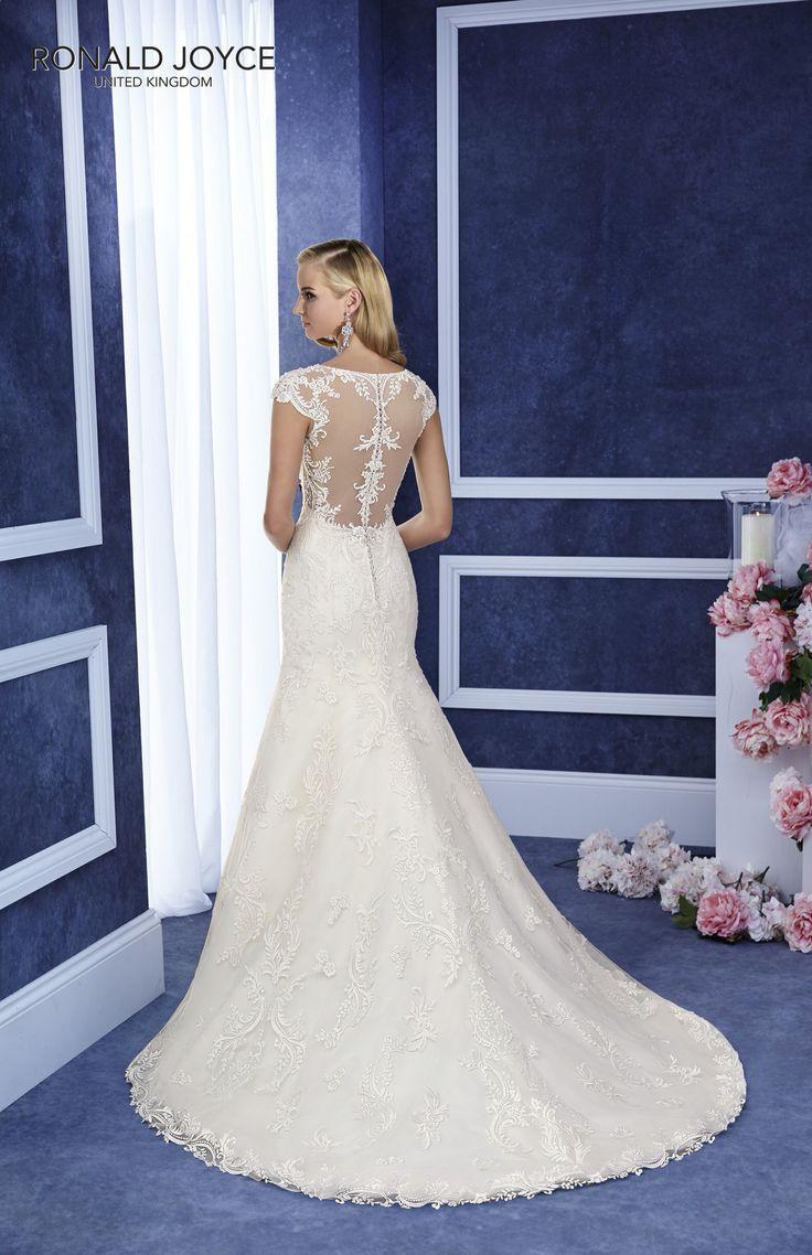 7 best ronald joyce at icon bridal images on pinterest wedding ronald joyce elana 69060 lace bridal gown with illusion back ivory ombrellifo Choice Image