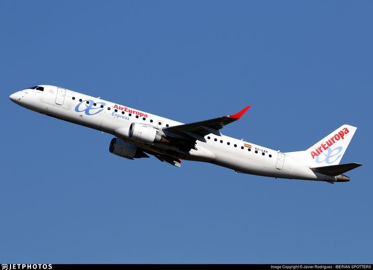 EC-LEK | Embraer 190-200LR | Air Europa Express | JetPhotos