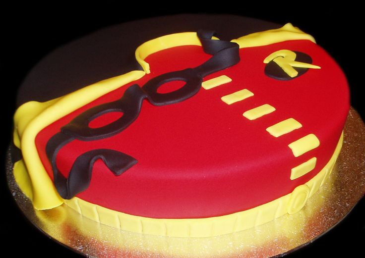 Robin Birthday Cake Images
