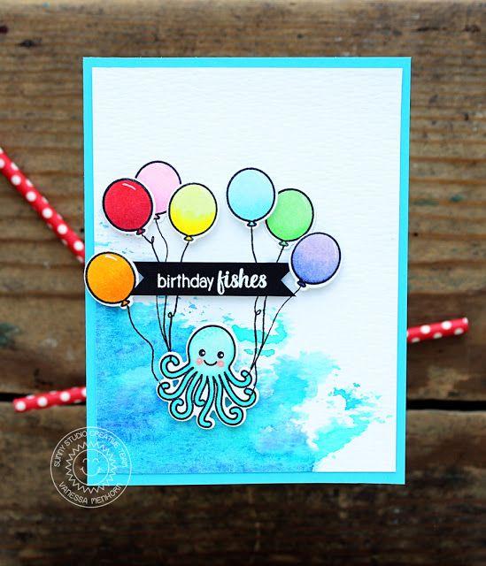 Oceans Of Joy Birthday Card with Vanessa