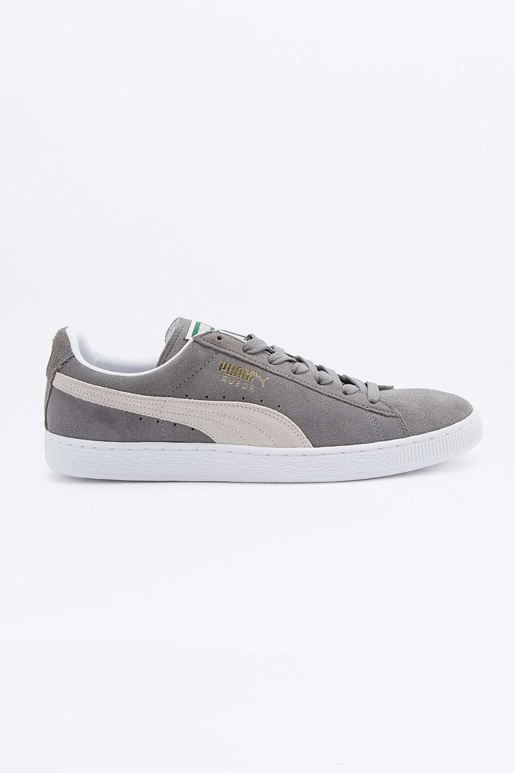 Details about puma womens suede classic rg black running shoes - Puma Suede Classic Grey Trainers