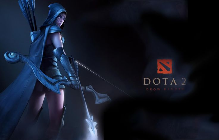 Drow Ranger Dota 2 Immortals: 34 Best Images About DotA 2 Wallpapers On Pinterest