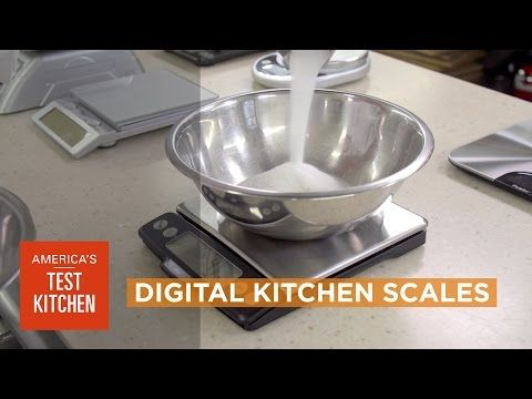 Equipment Review: Best Digital Kitchen Scales - YouTube