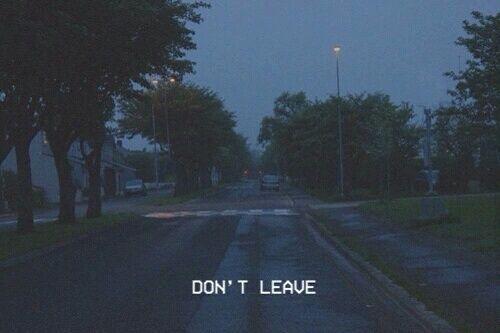 Não deixe