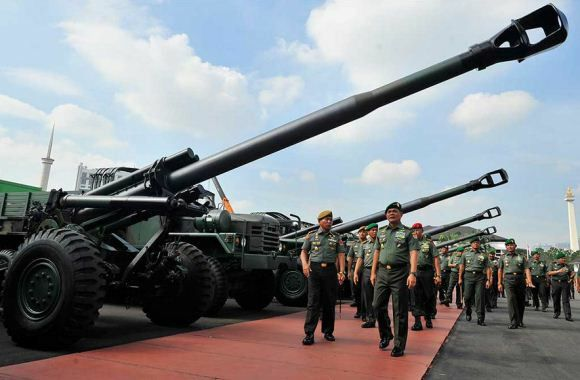 KH.179  -  Howitzer 155mm  -  INDONESIAN ARMED