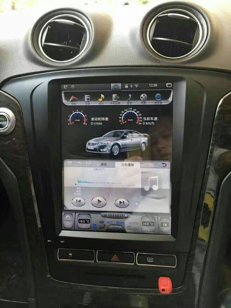 """10.4"""" Tesla-style Vertical Screen Android Navi Radio for Ford Mondeo 2010 2011 2012"""