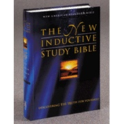 NAS New Inductive Study Bible, Hardcover, Thumb-Indexed