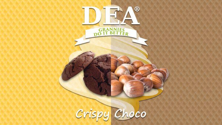 Aroma Crispy Choco di Granny Rita: biscotto al cioccolato e crema di nocciole #aromiDEA