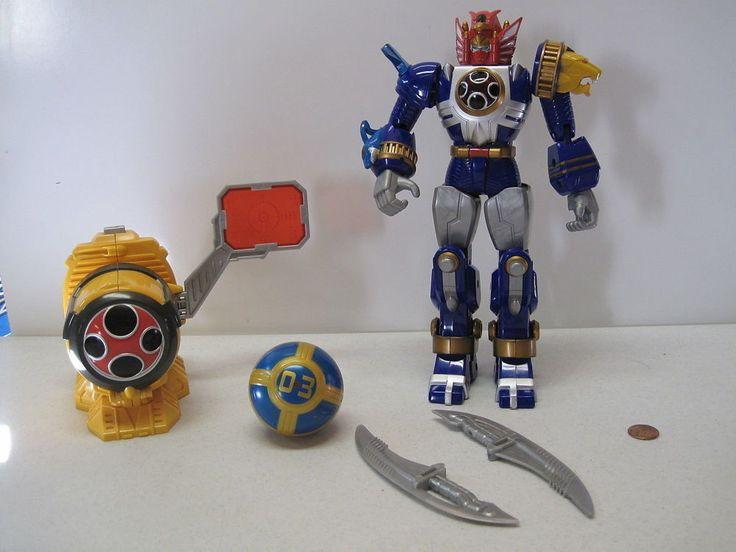 Power Rangers NINJA STORM LIGHTNING Power Thunder STORM Megazord Morpher   Toys & Hobbies, Action Figures, TV, Movie & Video Games   eBay!