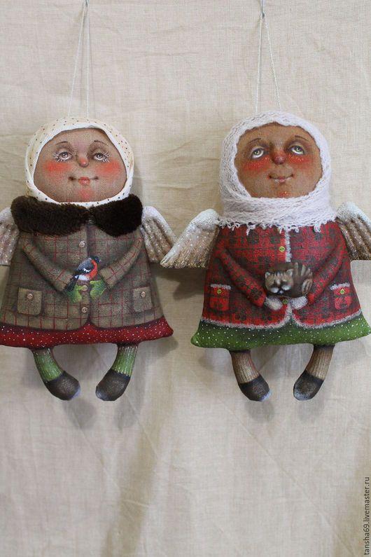 Ароматизированные куклы ручной работы. Ярмарка Мастеров - ручная работа. Купить Ангелы. Handmade. Комбинированный, ангелочек, синтепух