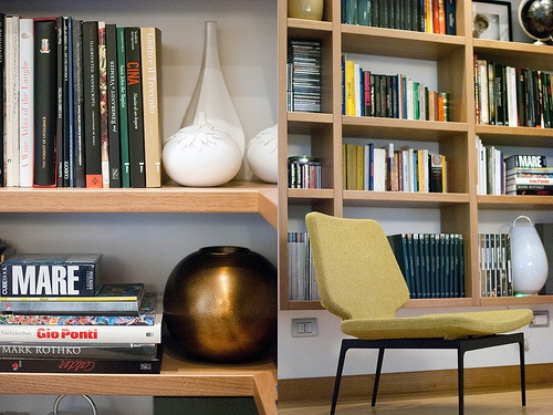 reading corner-bookshelf {my pics}