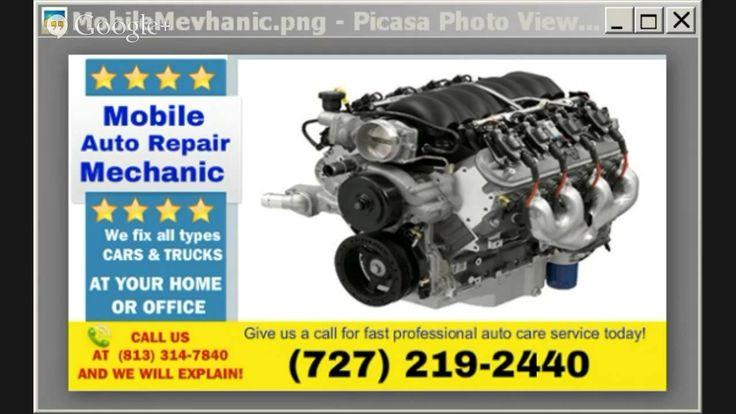 Mobile Mechanic  Saint Pete  vehicle Repair Shop at Your Service #Auto_Repair_Shop #St_Pete #mobile_mechanics