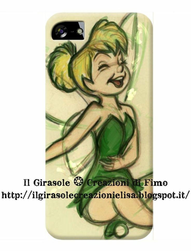 Cover per cellulare con fatina, by Il Girasole ❂ Creazioni di Fimo, 11,00 € su misshobby.com