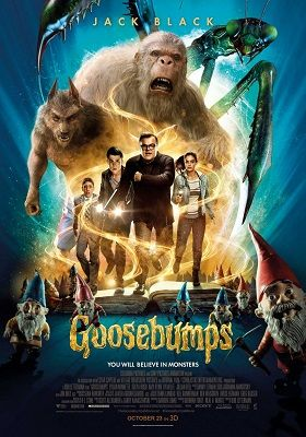 Goosebumps 2015 300MB Dual Audio 480p BRRip