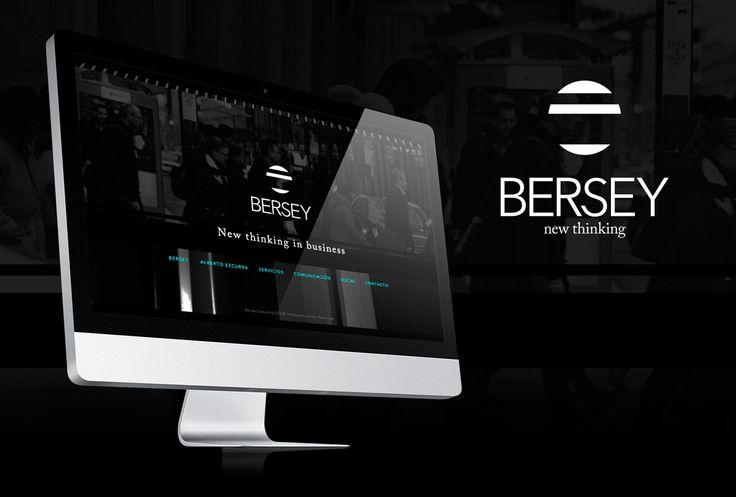Web de Bersey, consultora boutique en diseño de negocios,  de Alberto Ezcurra.