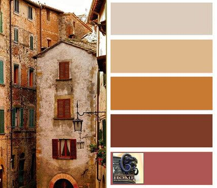 Choosing Tuscan Wall Colors | Tuscan decorating colors are warm, yellow-based colors that are nature ...