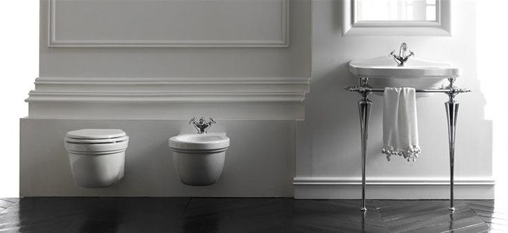 Ethos - Washbasins and Sanitary wares --- Lavabi e sanitari, collezione Ethos