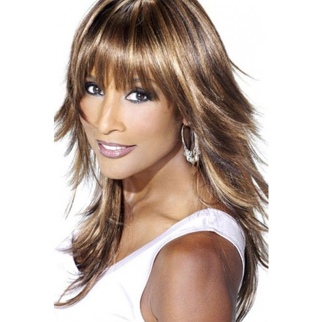 Medium Length Hairstyles With Layers layered short to mid length hair Beverly Johnson Medium Length Layered Hairstyles With Bangs