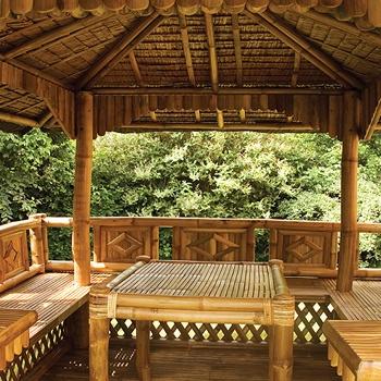 I love this Bamboo Gazebo!