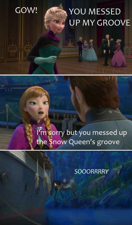 Frozen Emperor's New Groove