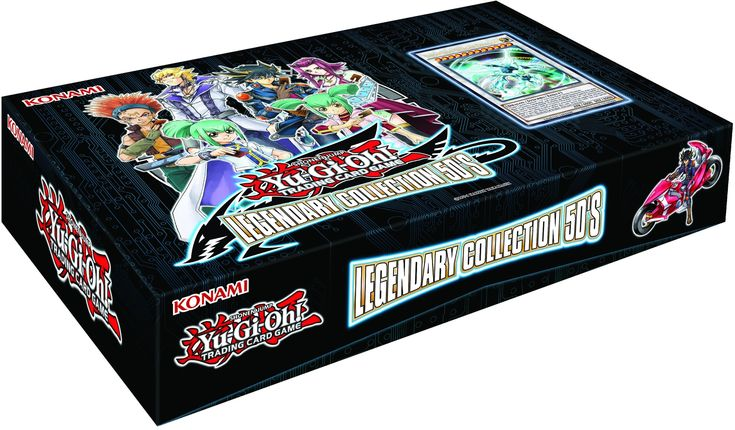 Yugioh Legendary Collection 5Ds Box.
