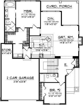 House Plan 1020 00286 Cottage Plan 1 613 Square Feet 2