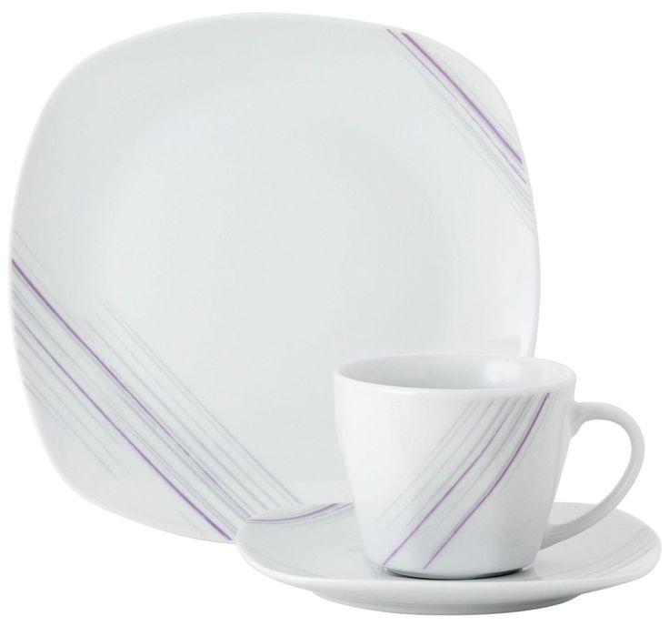 Kaffeeservice »Avenue« weiß, spülmaschinengeeignet, VAN WELL Jetzt bestellen unter: https://moebel.ladendirekt.de/kueche-und-esszimmer/besteck-und-geschirr/geschirr/?uid=30951185-812b-5c9f-ae7c-44ebe2ce747d&utm_source=pinterest&utm_medium=pin&utm_campaign=boards #geschirr #kaffeeservice #kueche #esszimmer #besteck Bild Quelle: yourhome.de