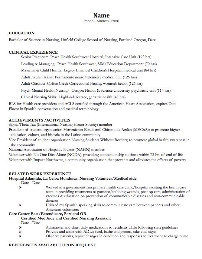 925 Best Images About Example Resume Cv On Pinterest | Entry Level