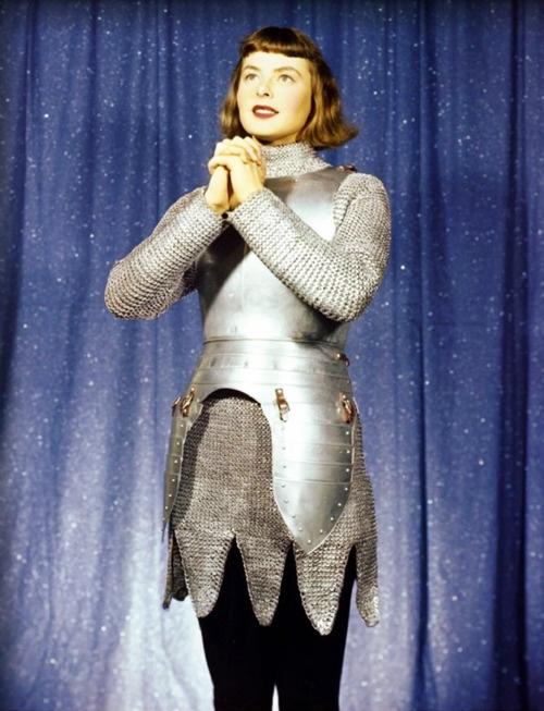 Joan of Arc  with great moviestar   Ingrid Bergman