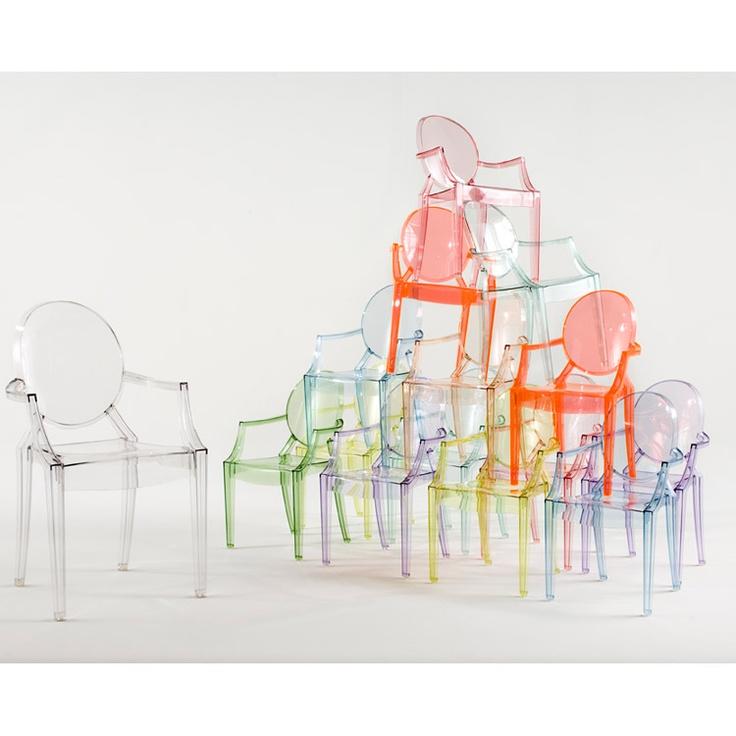 Lou Lou Kids Ghost Chair.