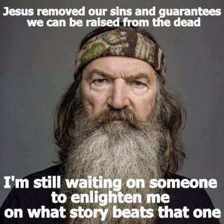 """DUCK DYNASTY'S PHIL ROBERTSON ON NEWS STORIES! Also Read """"How Jesus Christ Saved Their Marriage, Restored Their Family""""  http://www.christianpost.com/news/duck-dynasty-stars-phil-miss-kay-how-jesus-christ-saved-their-marriage-restored-their-family-96101/"""