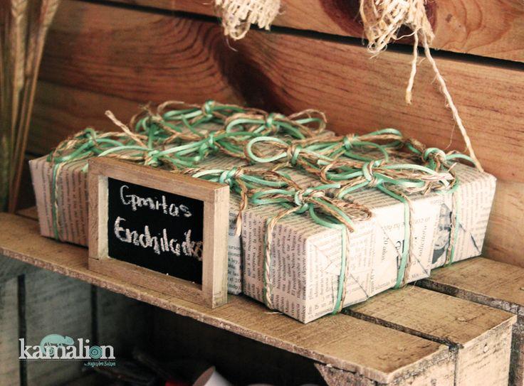 www.kamalion.com.mx - Candy Bar / Mesa de Dulces / Postres / Country / Vintage / Decor.