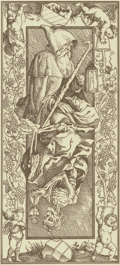 Albrecht Durer - (pseudo) Tarot, verso
