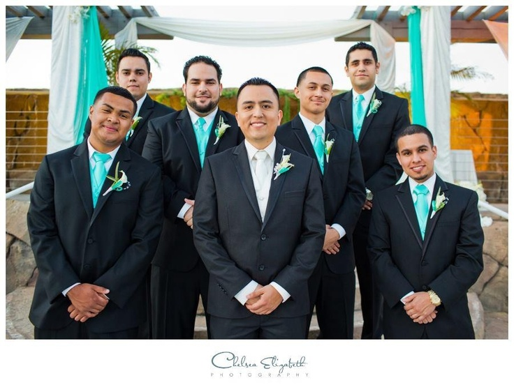 Love The Black On Look With Tiffany Blue Ties Handkerchief Brand Clipzine Pages Pinterest And